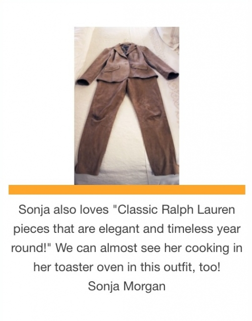 Sonja Morgan's favorite classic Ralph Lauren pieces