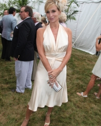 Sonja Morgan After Southampton Hospital Benefit 2011