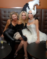 Lady Lilliana Cavendish, Anna Rothschild, Sonja Morgan for her Burlesque skit