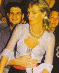 Sonja Morgan with Tori Spelling, and BH 90210 Friends St Barths 1999