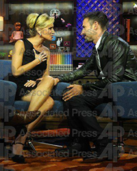David Arquette and Sonja Morgan on WWHL with Andy Cohen