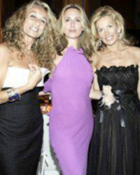 Ann Dextor-Jones, Sonja Morgan and guest
