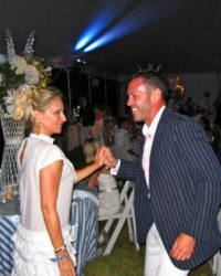 Sonja Morgan dancing with Robert Wynne Parry at the Southampton Hospital Benefit 2009