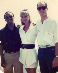 Prince Edward Mangope, Sonja Morgan and Prince Albert