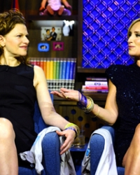 Sandra Bernhard and Sonja Morgan