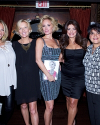 Dina Manzo, Cat Ommanney, Sonja Morgan, Kathy Wakile & Rosie Pierri (NJ Housewives)