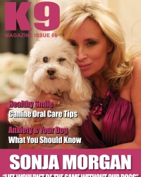 K-9 Magazine Cover Girl  2012
