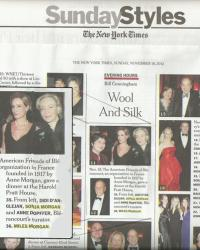 New York Times Evening Hours Section - Nov 2012