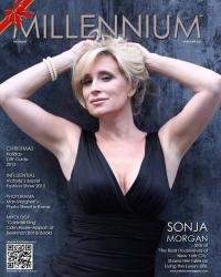 Sonja Morgan Millenium Magazine Cover December 2012 pg.1
