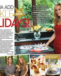 OK Magazine #48 - Sonja Holiday Spread
