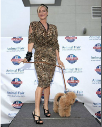 Sonja and Marley at the Cat Walk for The Humane Society - 2011