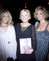 Cat Ommanney's Book Launch - Sonja Morgan, Cat Ommanney, Dina Manzo