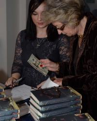 The Queen's Lover Book Launch, Francine du Plessix Gray