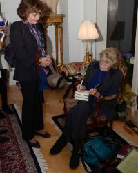 The Queen's Lover Book Launch & Signing, Francine du Plessix Gray