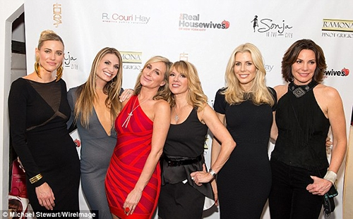 news rhony premiere party