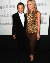 Backstage with Zang Toi at Fashion Week