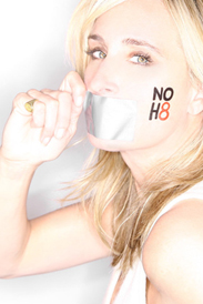 Sonja supports NoH8