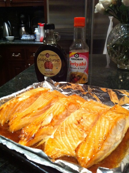Toaster oven maple soy glazed salmon by sonja morgan sonja morgan enjoy be sure to catch up with me on twitter sonjatmorgan and on my facebook fan page send me pictures of your toaster oven recipes xo sonja forumfinder Images
